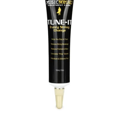 MusicNomad TUNE-IT Lubricant for Nut, Saddle, Bridge, String Guides