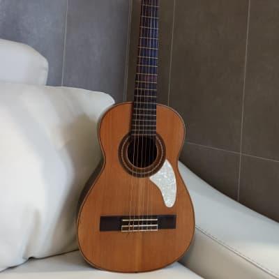 Telesforo Julve. Old guitar. Guitarra antigua. Pequeña, small for sale