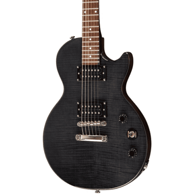 Epiphone Epiphone Les Paul Special II Plus Limited Edition Electric Guitar Transparent Black 2020 Se for sale