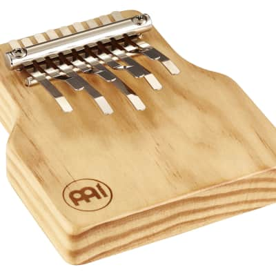 Meinl Percussion KA9-M Solid Wood Kalimba, Medium, Natural