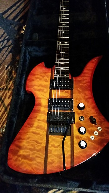 BC Rich Mockingbird ST with case | Reverb