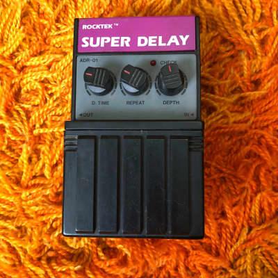 Rocktek Super Delay ca. 1990 Black for sale