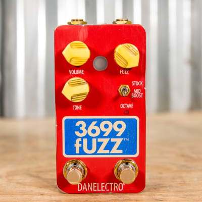 Danelectro 3699 Fuzz/Octaver Pedal for sale