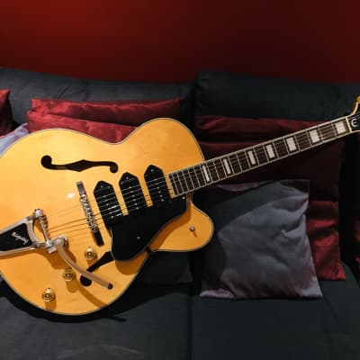 Epiphone Zephyr Blues Deluxe 1999 Natural for sale