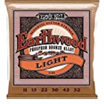 Ernie Ball Earthwood Light Phosphor Bronze Acoustic (11-52) Guitar Strings