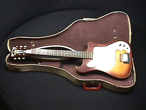 Guitar vintage kay electric The Story