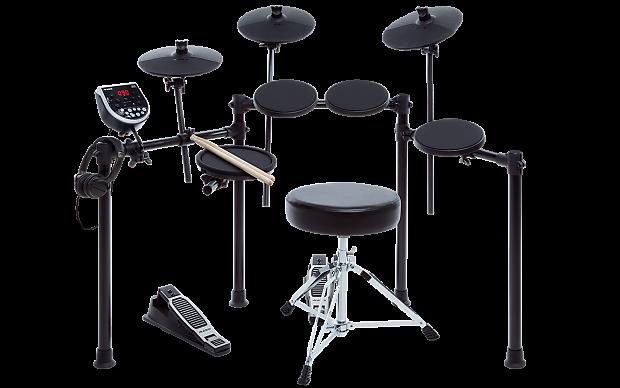 alesis burst kit electronic drum set includes drum throne reverb. Black Bedroom Furniture Sets. Home Design Ideas