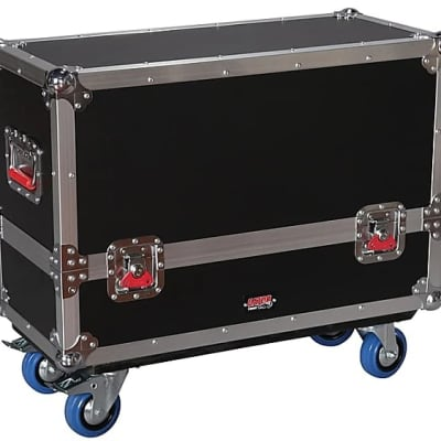 Gator G-TOUR-SPKR-2K8 Rolling Transporter Case for Two QSC K8 Speakers