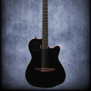 godin acs slim nylon with synth access model 18864 acoustic guitars for sale in the usa. Black Bedroom Furniture Sets. Home Design Ideas
