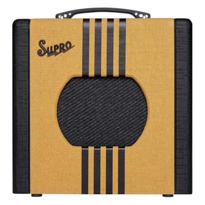 Supro Delta King 8 1-Watt 1x8 Combo Amp - Tweed & Black - 1818TB
