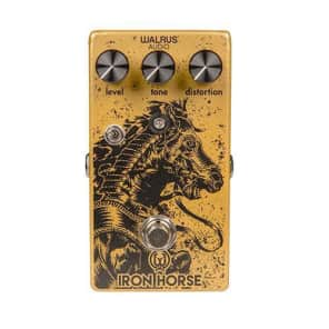 Walrus Iron Horse LM308 V2 Distortion Effect Pedal for sale