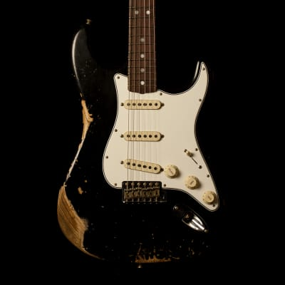 Fender Stratocaster '68 Heavy Relic Black for sale