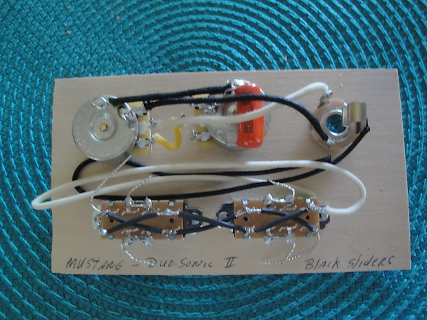 Tremendous Wiring Harness For Fender Mustang Duo Sonic Ii Cts Reverb Wiring Digital Resources Nekoutcompassionincorg