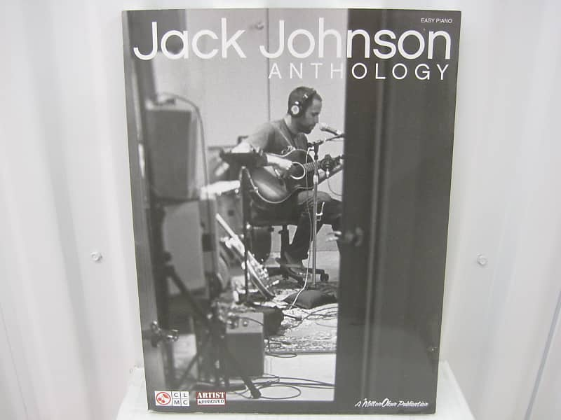 Jack Johnson Anthology Easy Piano Sheet Music Song Book Songbook