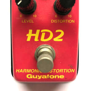 Guyatone HD2, Micro Series, Harmonic Distortion, Made In Japan, 1980's, Vintage Guitar Effect Pedal for sale