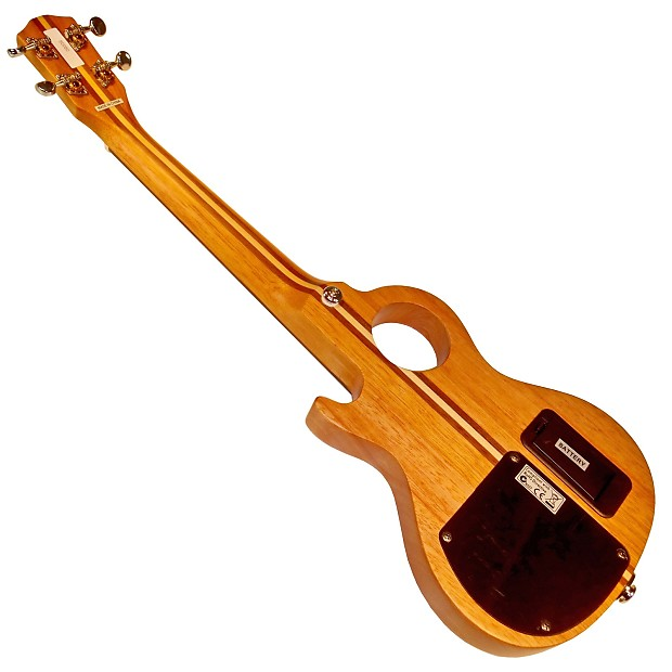 teton steu101t tenor electric solid body ukulele with jacks reverb. Black Bedroom Furniture Sets. Home Design Ideas