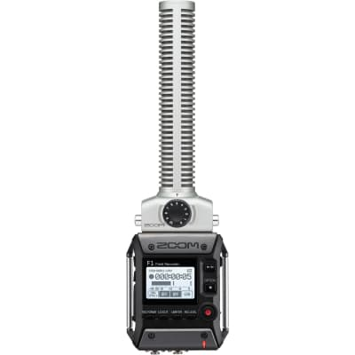 Zoom F1-SP Field Recorder and Shotgun Mic