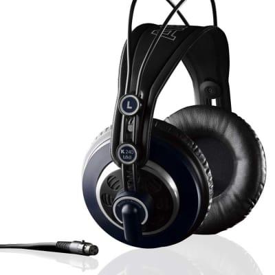 AKG K240 MKII - Semi-open, circum-aural dynamic stereo headphones