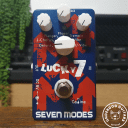 Caline CP-38 Lucky 7 Seven Modes of Seven Modulation Effects Pedal