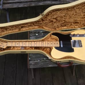Fender 51 Nocaster Custom Shop Relic 2006 Butterscotch Blonde for sale