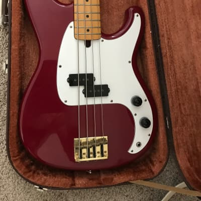 Ibanez Roadstar II bass  1984 Candy Apple Red for sale