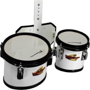 04728653099b Trixon Field Series Junior Marching Toms Set of 2 White