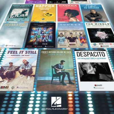 Hal Leonard 40 Most Streamed Songs for Ukulele
