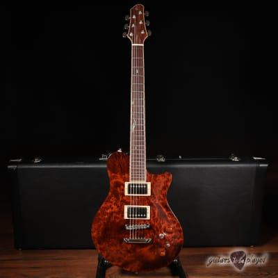 New Orleans Guitar Company Voodoo Custom w/ Case - Redwood Burl for sale