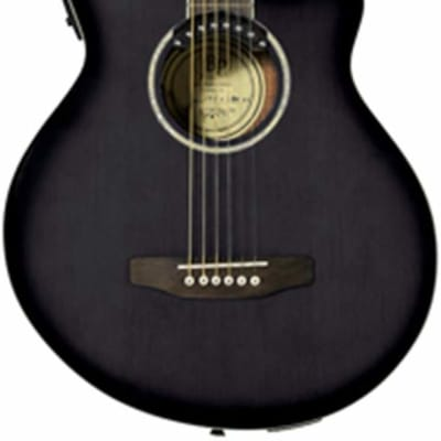 JB PLAYER JBEA35BK acoustic electric guitar NEW black - Built-in Tuner for sale