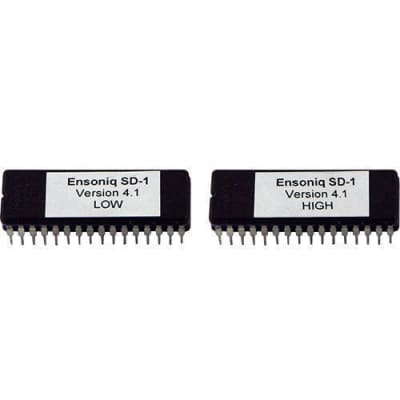 Ensoniq SD-1 (32 Voices) EPROM Firmware Upgrade Latest OS Version 4.10 SD1