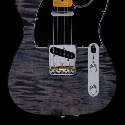 Fender Rarities Quilt Maple Top Telecaster Blue Cloud (653)