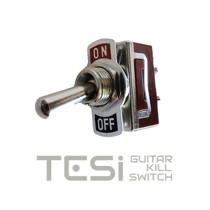 tesi otto 12mm stainless steel guitar toggle killswitch kill reverb. Black Bedroom Furniture Sets. Home Design Ideas