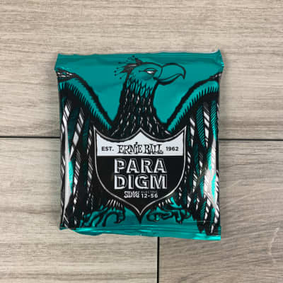 Ernie Ball Not Even Slinky Paradigm Electric Guitar Strings, 12-56 Gauge