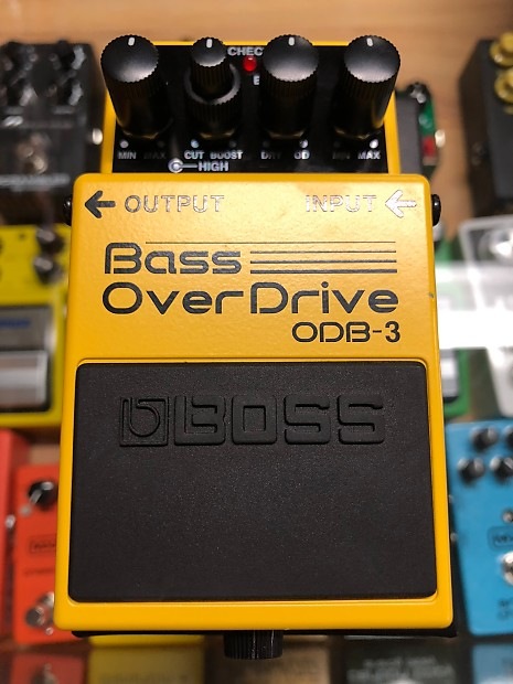 boss odb 3 bass overdrive pedal used kennelly keys music reverb. Black Bedroom Furniture Sets. Home Design Ideas