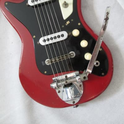 Burns Sonic electric guitar c.1962 red/black for sale