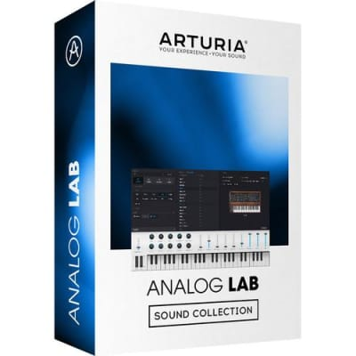 Arturia Analog Lab 4 Ultimate Keyboard Sound Collection Software (Download/Activation Card)