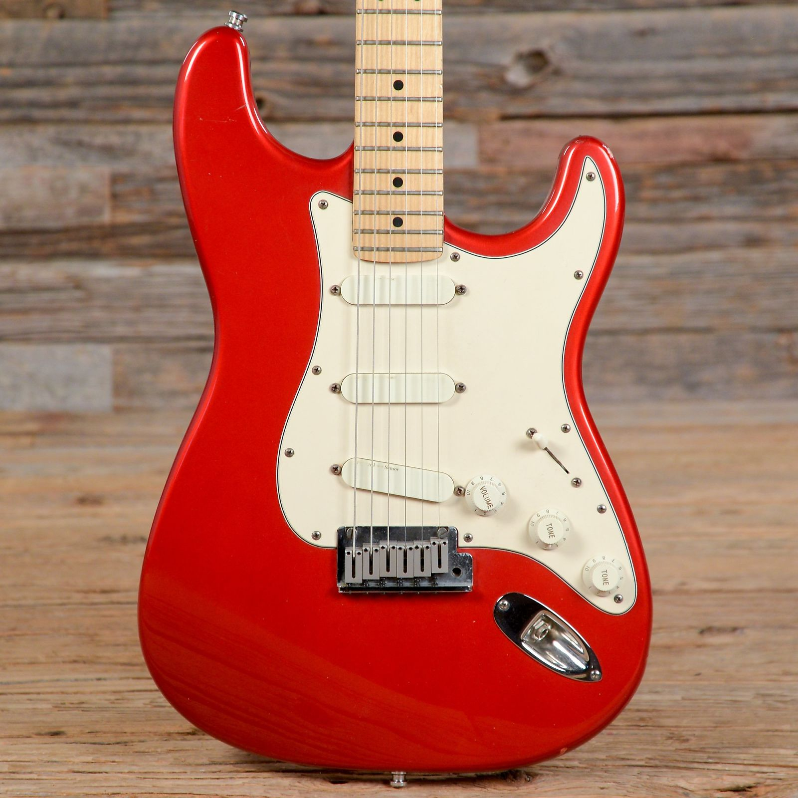 Fender Stratocaster Plus Frost Red 1989 (s593)