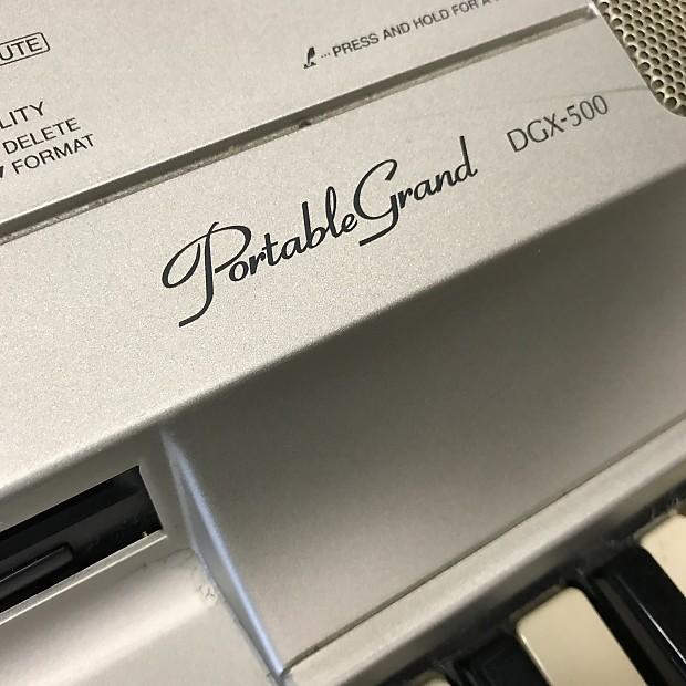 Franks Body Shop >> Yamaha DGX-500 Portable Grand Piano Keyboard - 88 Keys ...