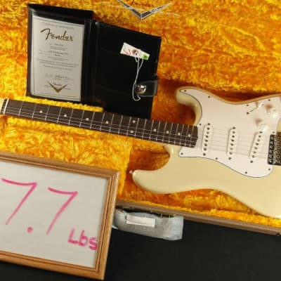 Fender Custom Shop NAMM SHOW 1961 Stratocaster NOS PAINTED NECK - Vintage Blonde! for sale