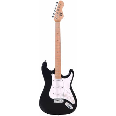 Herald Black Electric Guitar for sale