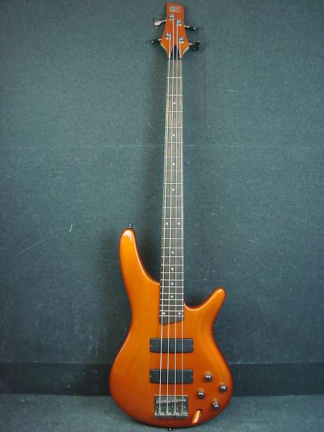 ibanez sr300 orange finish 4 string electric bass guitar reverb. Black Bedroom Furniture Sets. Home Design Ideas