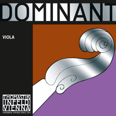 "Thomastik-Infeld 13814 Dominant Silver Wound Synthetic Core 14"" Viola String - G (Medium)"