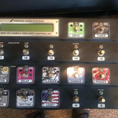 Fractal Audio MFC-101 Mark II MIDI Foot Controller