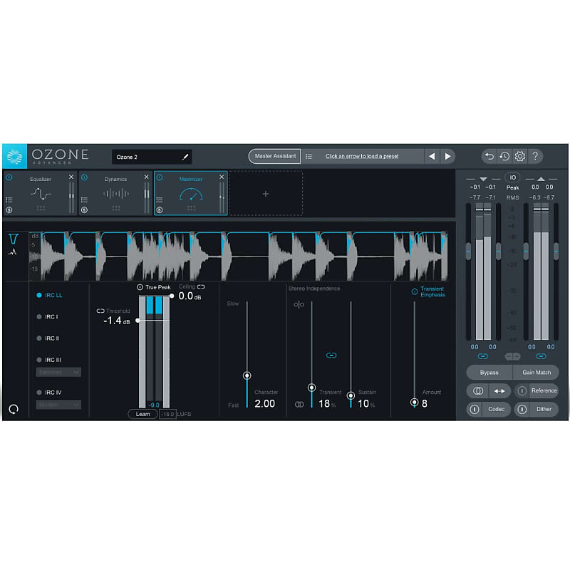 izotope ozone elements 8 mastering suite guildwater gear reverb. Black Bedroom Furniture Sets. Home Design Ideas