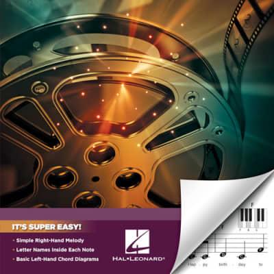 Hal Leonard Movie Songs Super Easy Songbook