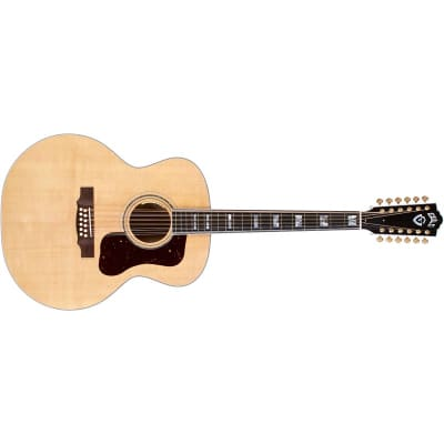 Guild USA F-512 Maple 12 String Jumbo Acoustic, Natural for sale
