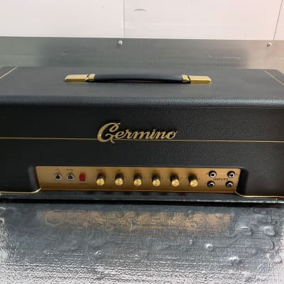Germino Lead 55 LV Amplifier Switchable SS and Tube Rectifier for sale