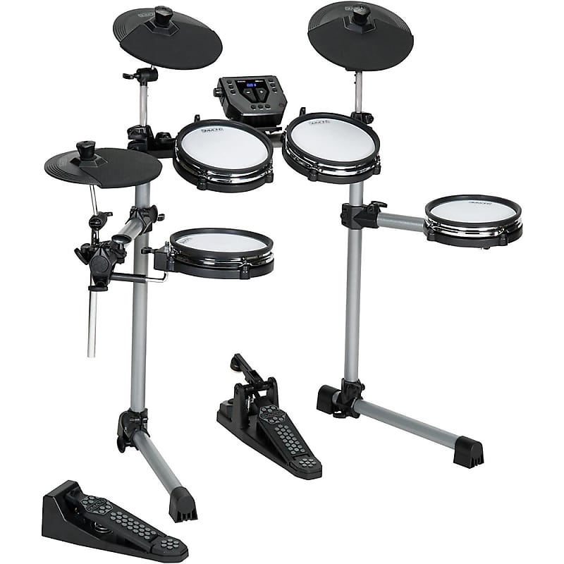 Simmons SD350 Electronic Drum Kit with Mesh Pads  Music123  Reverb
