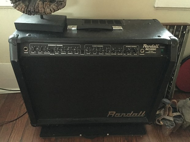 randall rg100sc g2 2x12 stereo guitar combo amp reverb. Black Bedroom Furniture Sets. Home Design Ideas