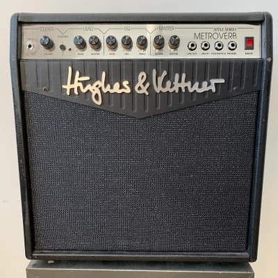 "Hughes & Kettner ATTAX Series Metroverb 2-Channel 50-Watt 1x12"" Solid State Guitar Combo"